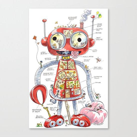 The Automaton of Astounding Magnitude Canvas Print