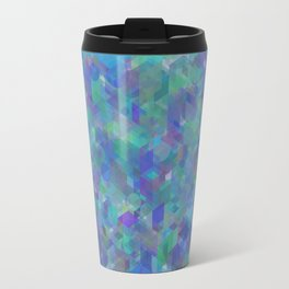 Panelscape + circles  - #1 society6 custom generation Travel Mug