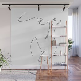 Curve Wall Mural