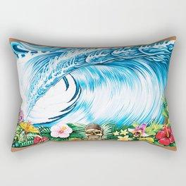 South Pacific Beast Rectangular Pillow