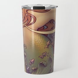 Andersen Little Mermaid Nouveau Travel Mug
