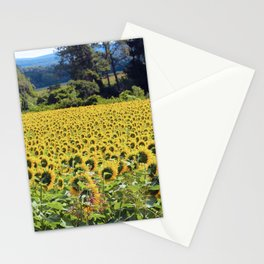 Facing the sun Stationery Cards