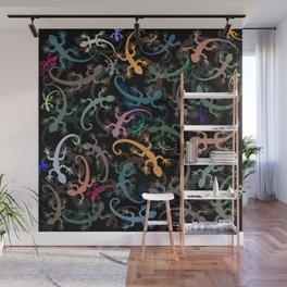 Leaping Lizards Wall Mural