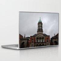 dublin Laptop & iPad Skins featuring Dublin Castel by Chalene Malekoff