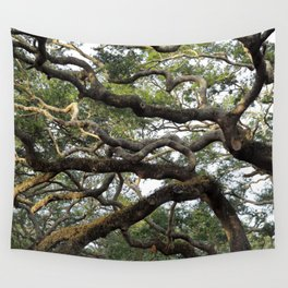 Live Oak Tree Wall Tapestry