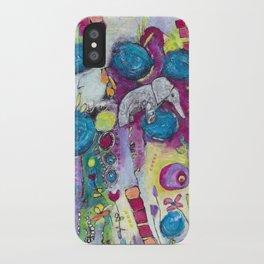 Iris & Matilda iPhone Case