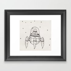 Invasor Malvado Framed Art Print