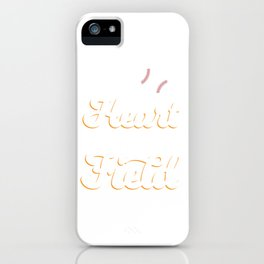 """Baseball Tee For Players Saying """"My Heart Is On That Field"""" T-shirt Design Bat Home Run Pitcher iPhone Case"""