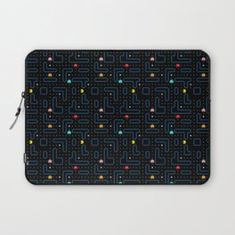 Pac-Man Retro Arcade Video Game Pattern Design Laptop Sleeve