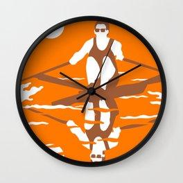 Rower Wall Clock