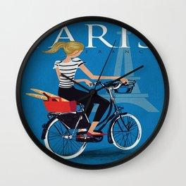 Vintage poster - Paris Wall Clock