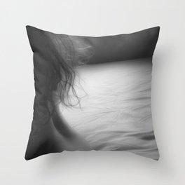Woman Throw Pillow
