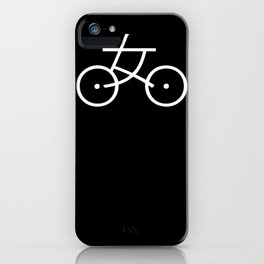 Kanji Bicycle iPhone Case