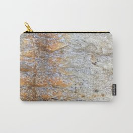 Rocky Rust Divide // Rock Formation Textured Background Accent Decoration Carry-All Pouch