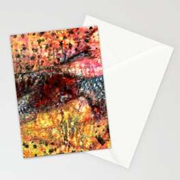Sedimentary Rock Abstract Stationery Cards