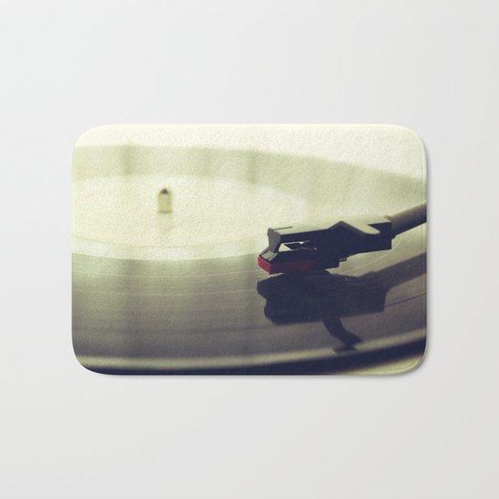 Record player Bath Mat