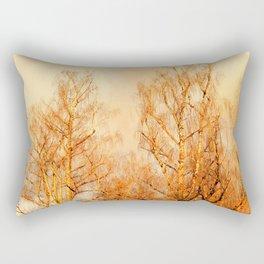 TREES AT SUNSET 2 Rectangular Pillow