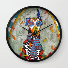 Zeus the Doberman Wall Clock