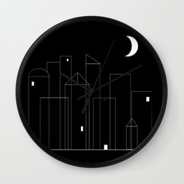 Nightowls (Ghost Town) Wall Clock