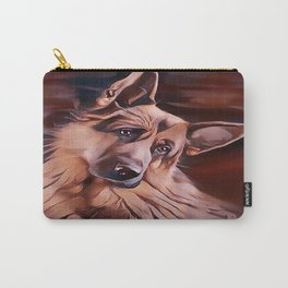 Long Haired German Shepherd Carry-All Pouch