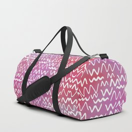 Squiggly Duffle Bag