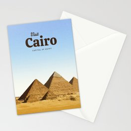 Visit Cairo Stationery Cards