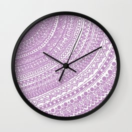 Pink Pulse o2. Wall Clock