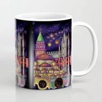 istanbul Mugs featuring Istanbul  by Aleksandra Jevtovic