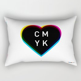 Print Love Rectangular Pillow