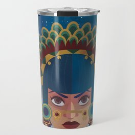 Coyolxauhqui Travel Mug