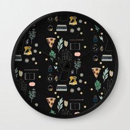 Cereal - Illustration Wall Clock