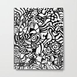Wisdom Bits Metal Print