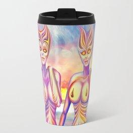 Evening sun creatures Travel Mug