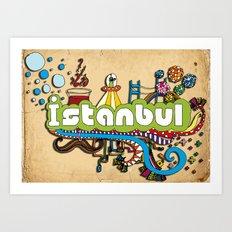 Hilarioustanbul (: Art Print