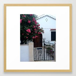 Ciutadellan House Framed Art Print