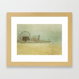 Seaside Heights Fun town pier New Jersey Framed Art Print