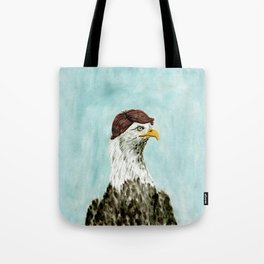 Mid-Life Crisis Eagle  Tote Bag