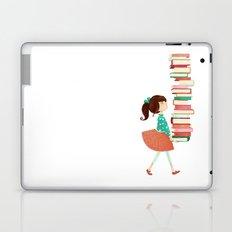 Library Girl Laptop & iPad Skin