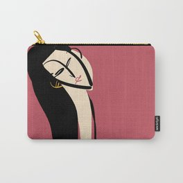 The girl in rouge Carry-All Pouch