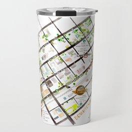 Downtown Billings Brewery Map Travel Mug