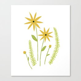 Black-eyed Susans & Things Canvas Print