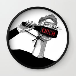 OUCH Wall Clock