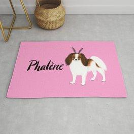 Phalène (Pink) Rug