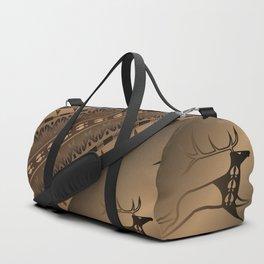 Elk Spirit (Brown) Duffle Bag