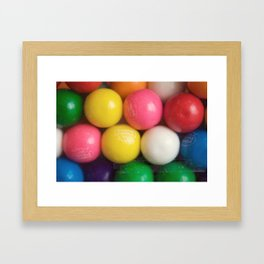 Gumballs Framed Art Print