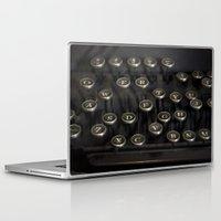 typewriter Laptop & iPad Skins featuring Typewriter by JessicaShoots