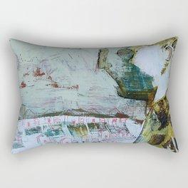 the world at large Rectangular Pillow