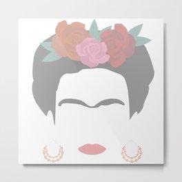 Kahlo Metal Print