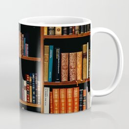 The Bookshelf (Color) Coffee Mug