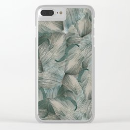 Granny Smith Interlaces Clear iPhone Case